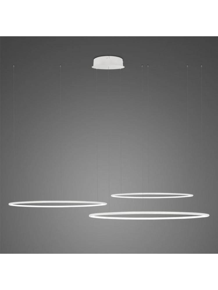 Pakabinamas šviestuvas LED apskritimai Nr. 3 80cm 60cm 40cm 4000K