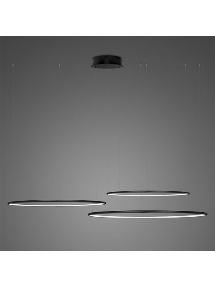 Pakabinamas šviestuvas LED apskritimai Nr. 3 80cm 60cm 40cm 3000K