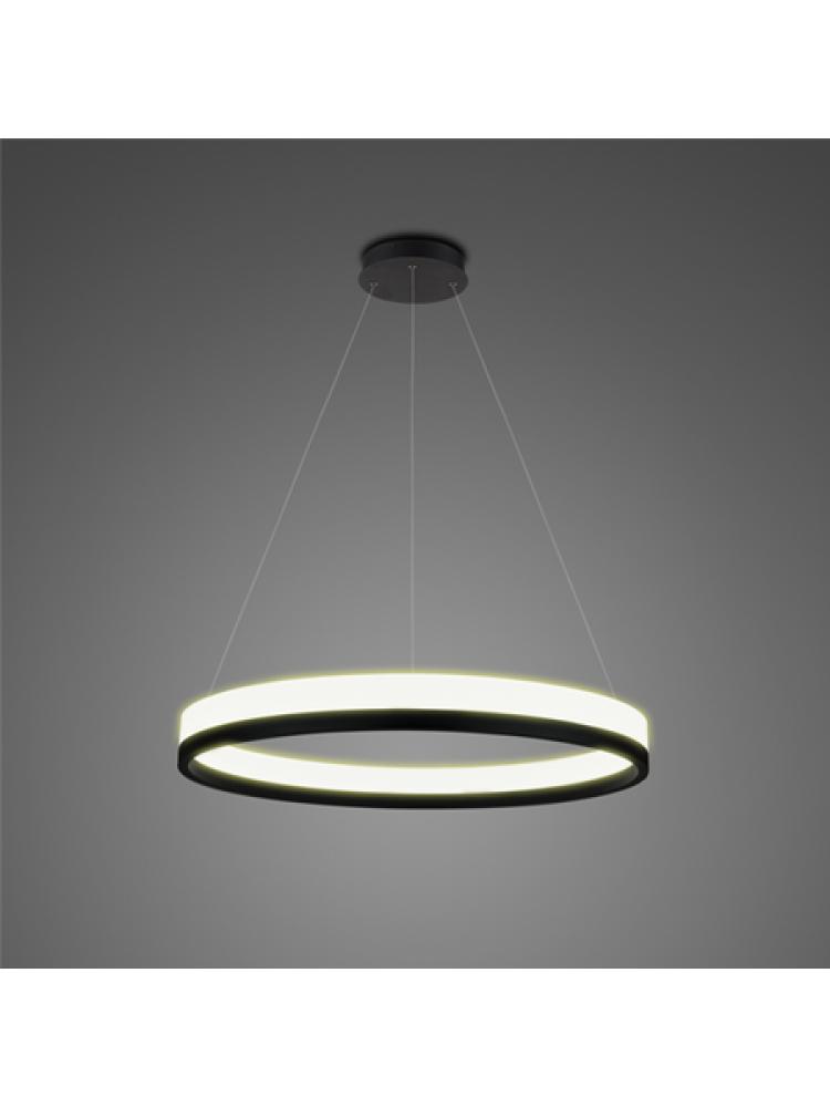 Pakabinamas šviestuvas  Led Billions 40cm, juodos spalvos