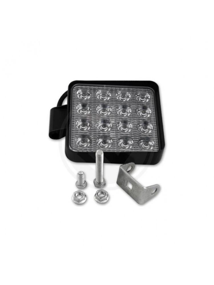 LED žibintas 48W 105mm x 125mm