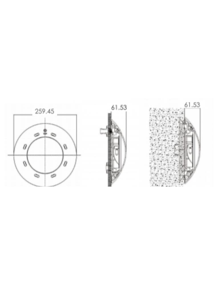 Baseino šviestuvas CP100 6W