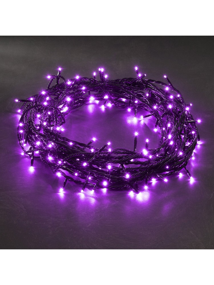 300 LED DIODŲ GIRLIANDA  (violetinė)