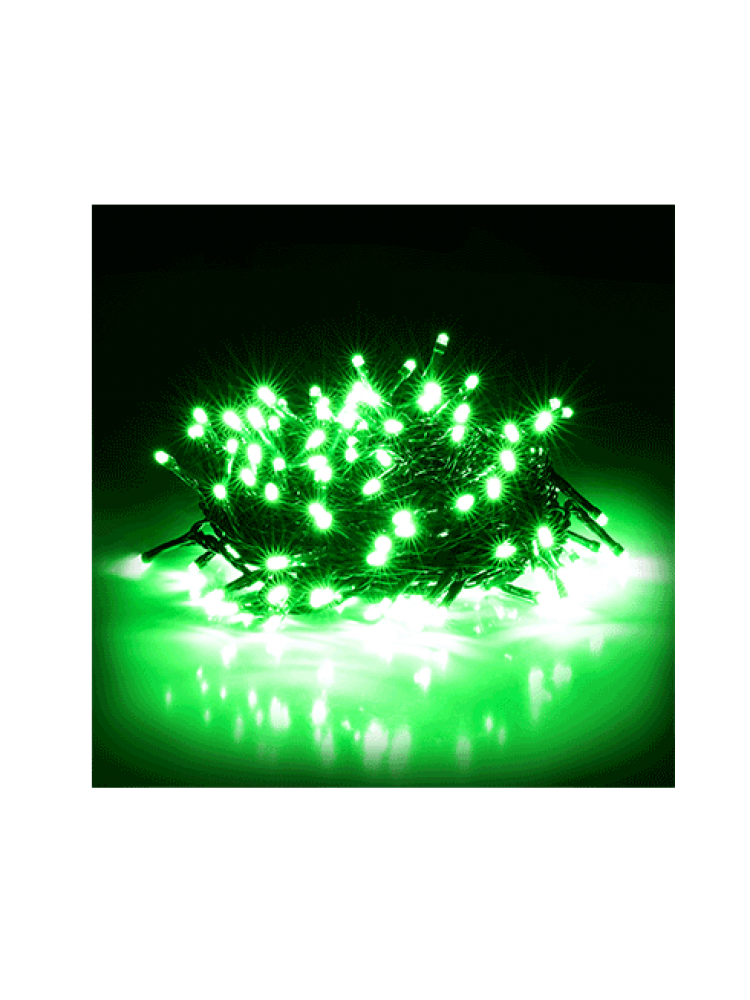 300 LED DIODŲ GIRLIANDA  (žalia)