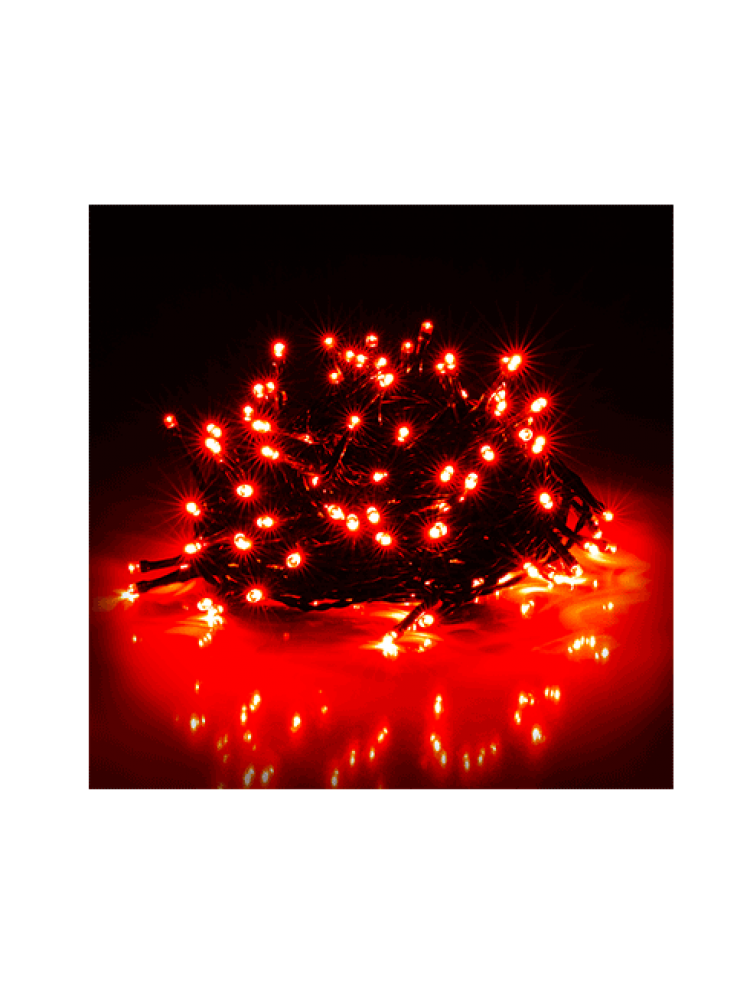 300 LED DIODŲ GIRLIANDA  (raudona)