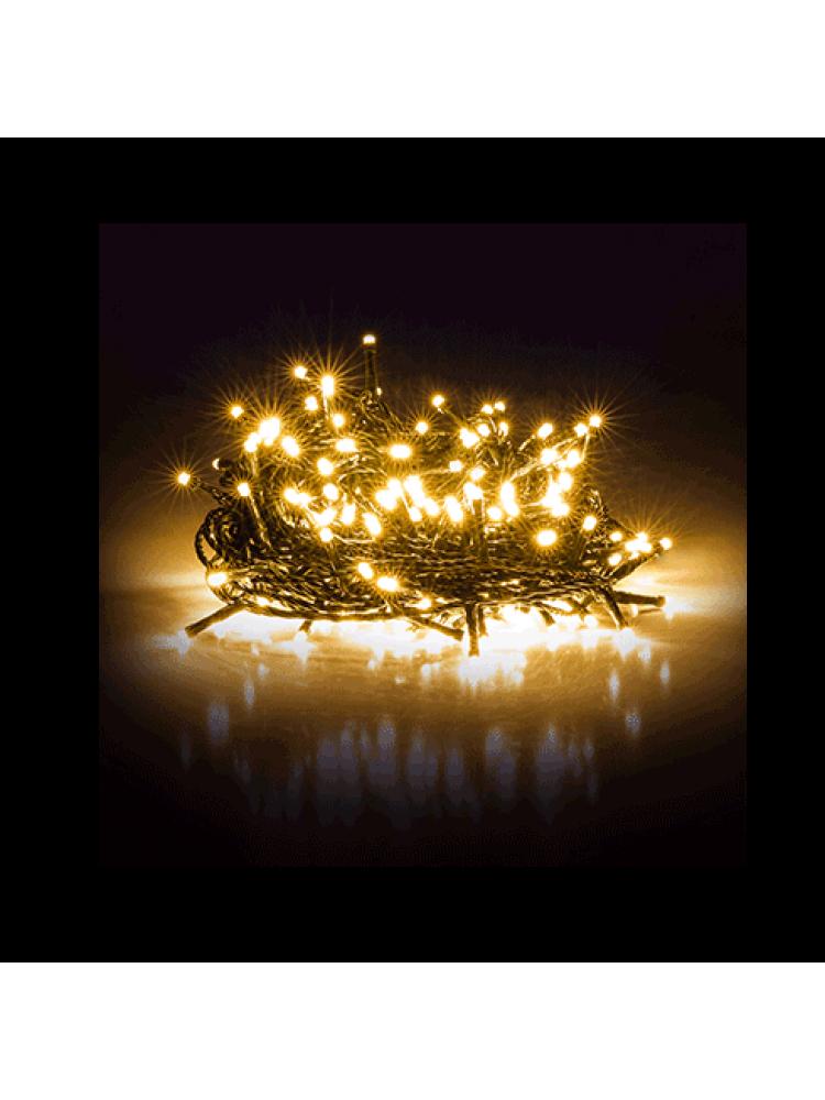 300 LED DIODŲ GIRLIANDA  (šiltai balta)