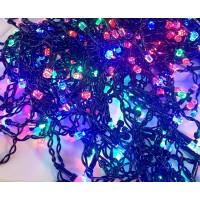 """500 LED DIODŲ GIRLIANDA  """"VARVEKLIAI"""" , lauko sąlygoms  (RGB, įvairių spalvų)"""