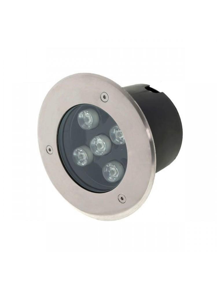LED grindinis lauko šviestuvas 5W / 220V LED, įmontuojamas  IP65