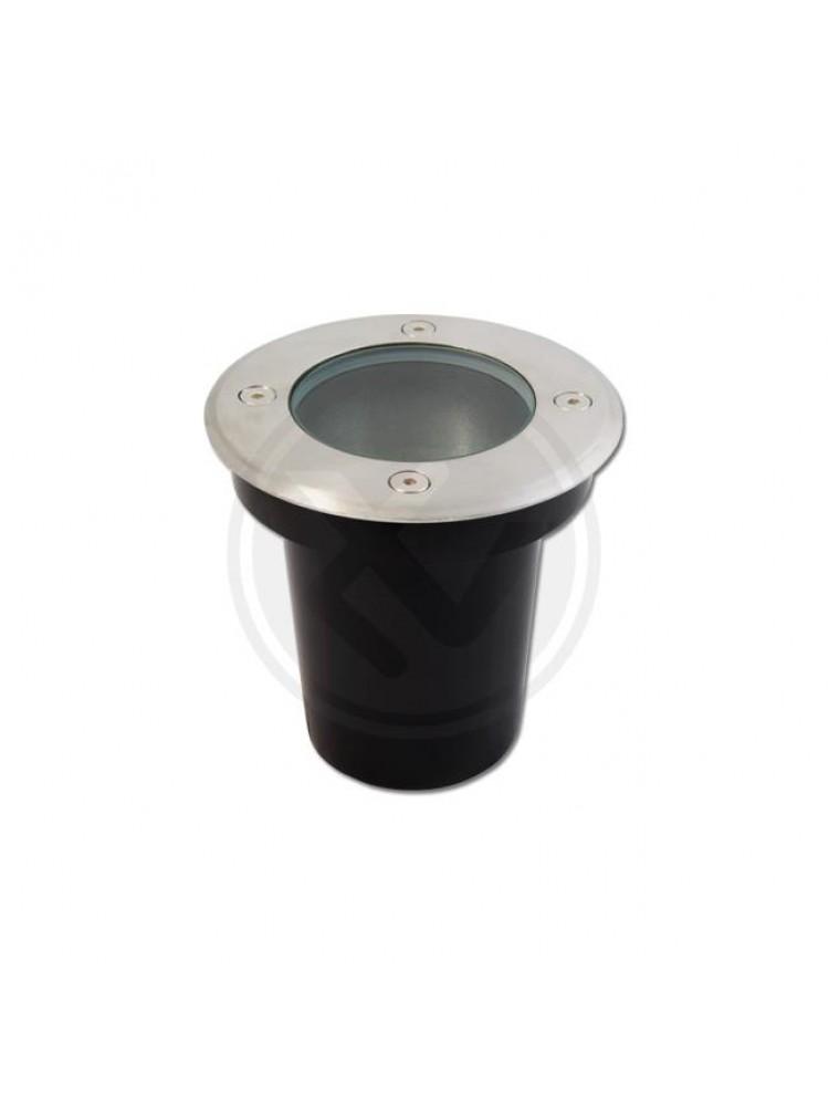 LED grindinis lauko šviestuvas GU10  apvalus 110mm