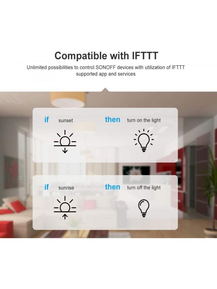 SONOFF BASIC R3, 2200W, 230VAC  išmanusis jungiklis, valdomas programėle, Wi-Fi, galimybė valdyti balsu, DIY režimas