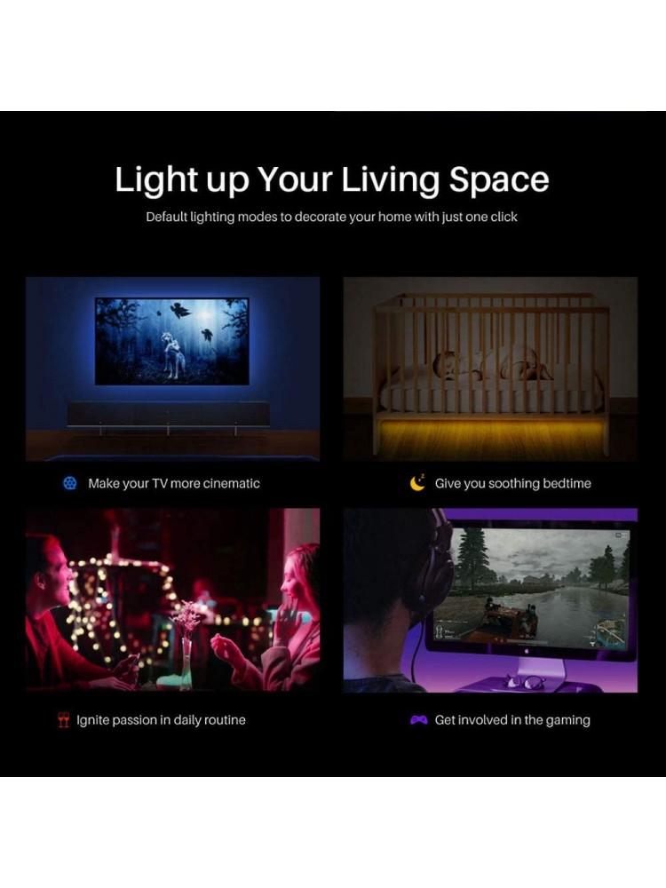 SONOFF L1 2M, 24W, 300lm/m, 230VAC išmanioji LED RGB juosta , juosta IP65, valdoma programėle, Wi-Fi, pulteliu, galimybė valdyti balsu, komplektacijoje yra LED juosta, valdiklis, pultelis ir maitinimo šaltinis