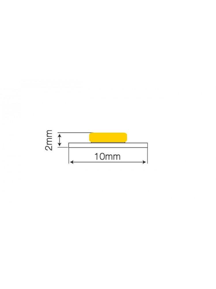 LED SPECIALIST  juosta COB  12W/m 24V 4500K neutraliai balta