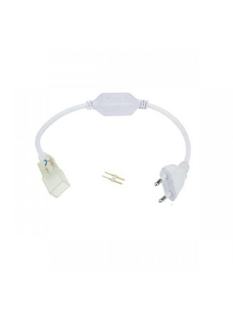 LED NEON FLEX 220V pajungimo elementas