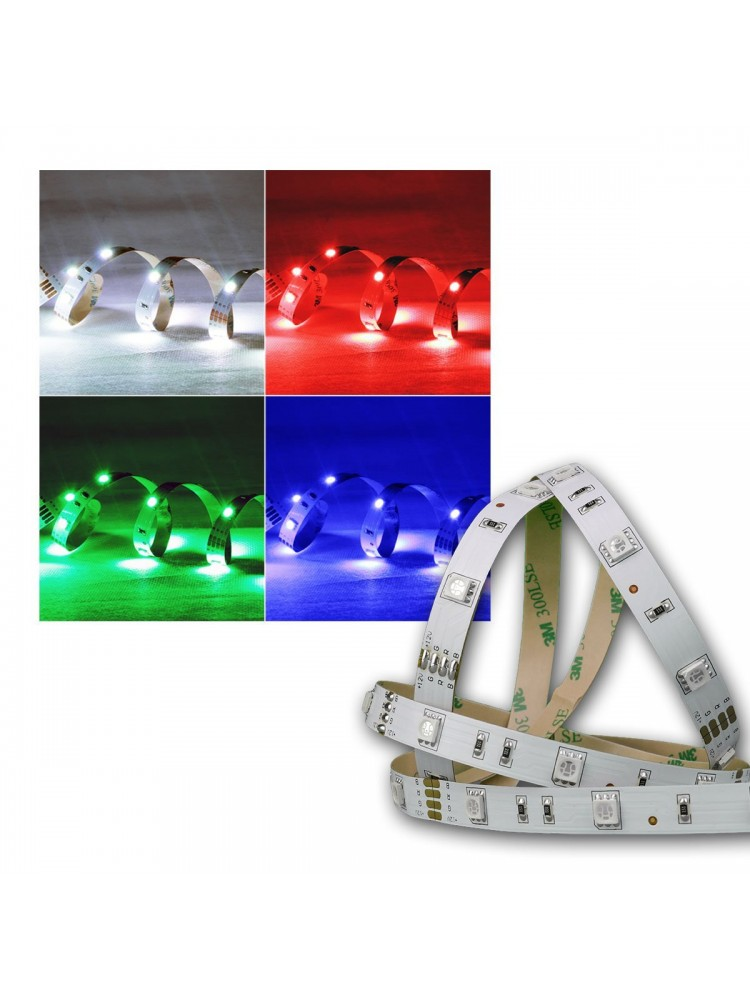 LED  RGB  7,2W/m, IP20 PREMIUM