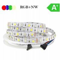 LED  RGB+NW (dienos šviesa) 14,4W/m, IP20
