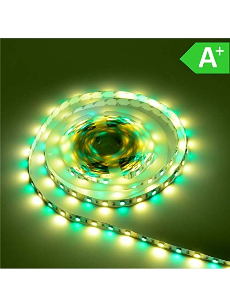 LED  RGB+WW (šiltai balta) 14,4W/m, IP20
