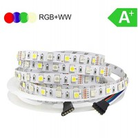 LED  RGB+WW (šiltai balta) 14,4W/m, IP20