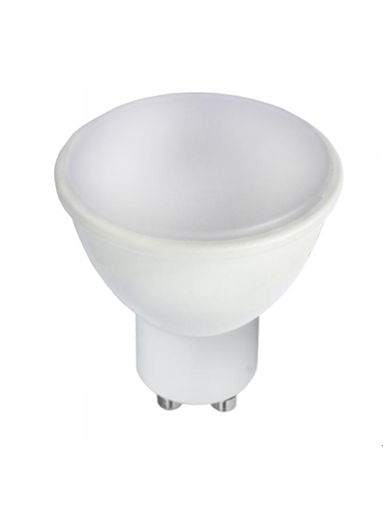 LED lemputė 7W GU10 4500K (dienos šviesa), pritemdoma (DIMMABLE)
