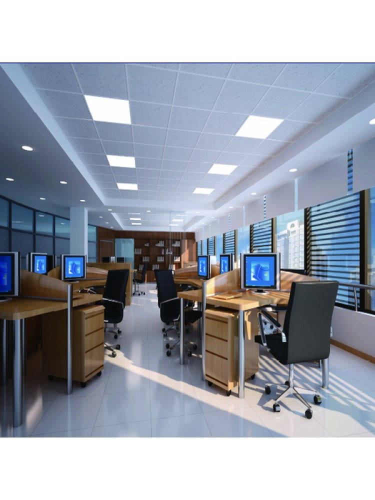 LED panelė 595x595 36W 4000K (MIKROPRIZMATINIS) su 5metų garantija