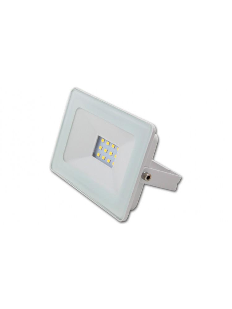 Lauko prožektorius LED SMD VEGA 10W  BALTAS