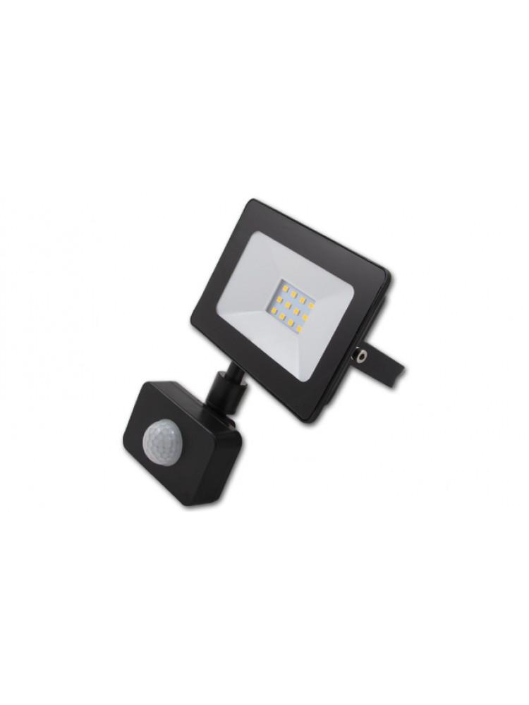 Lauko prožektorius LED SMD VEGA 10W  su judesio davikliu