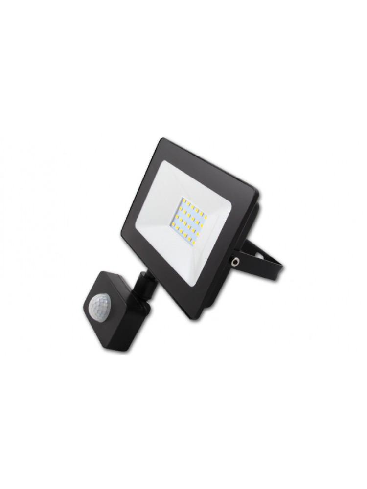 Lauko prožektorius LED SMD VEGA 20W  su judesio davikliu