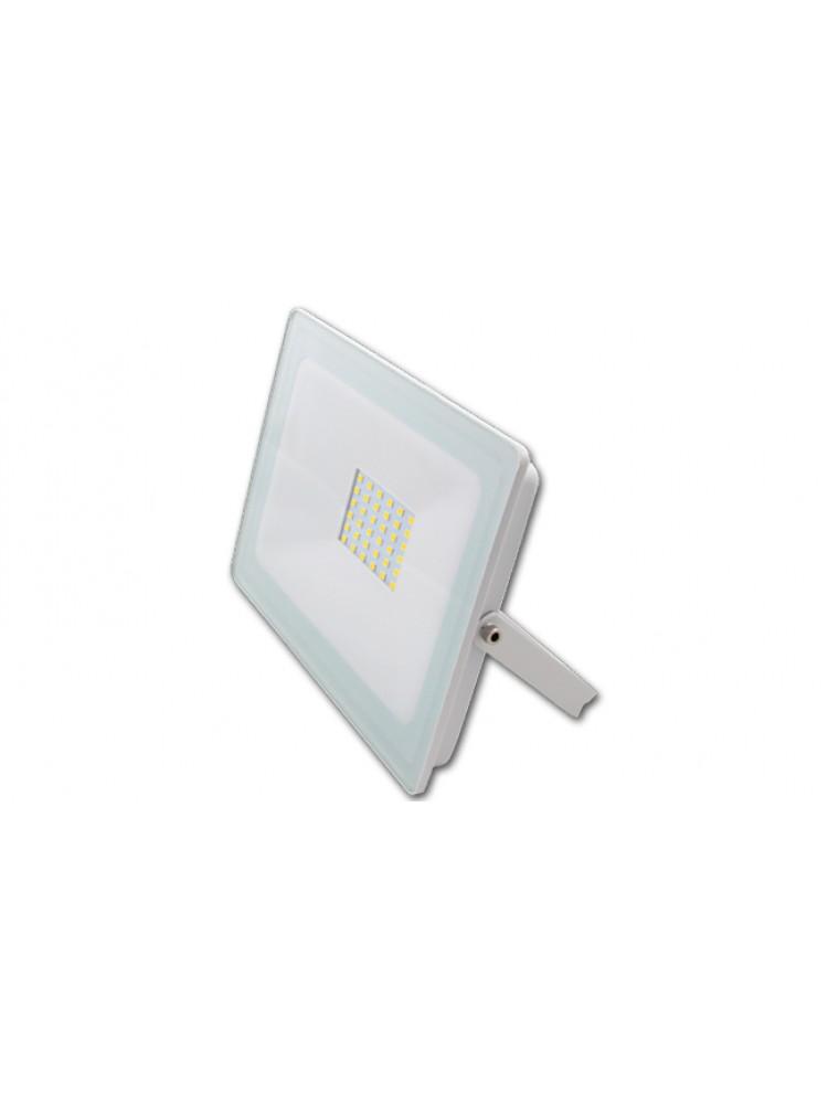 Lauko prožektorius LED SMD VEGA 30W  BALTAS