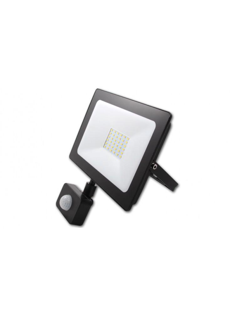 Lauko prožektorius LED SMD VEGA 30W  su judesio davikliu