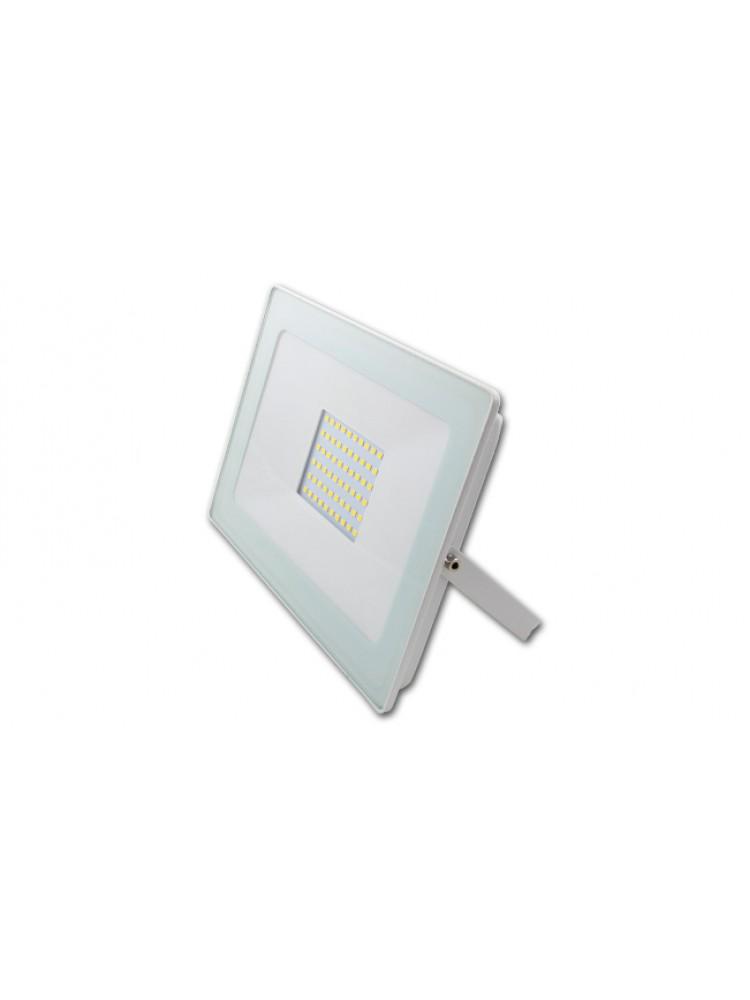Lauko prožektorius LED SMD VEGA 50W BALTAS