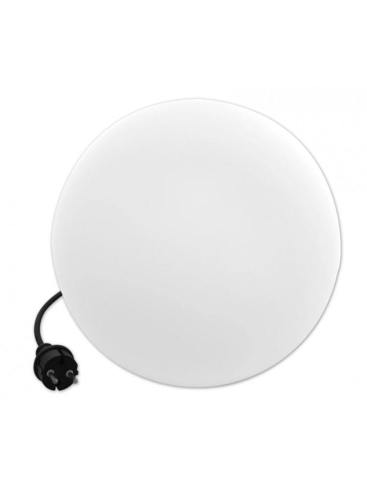 LED sodo šviestuvas  230V diametras 35cm, baltas