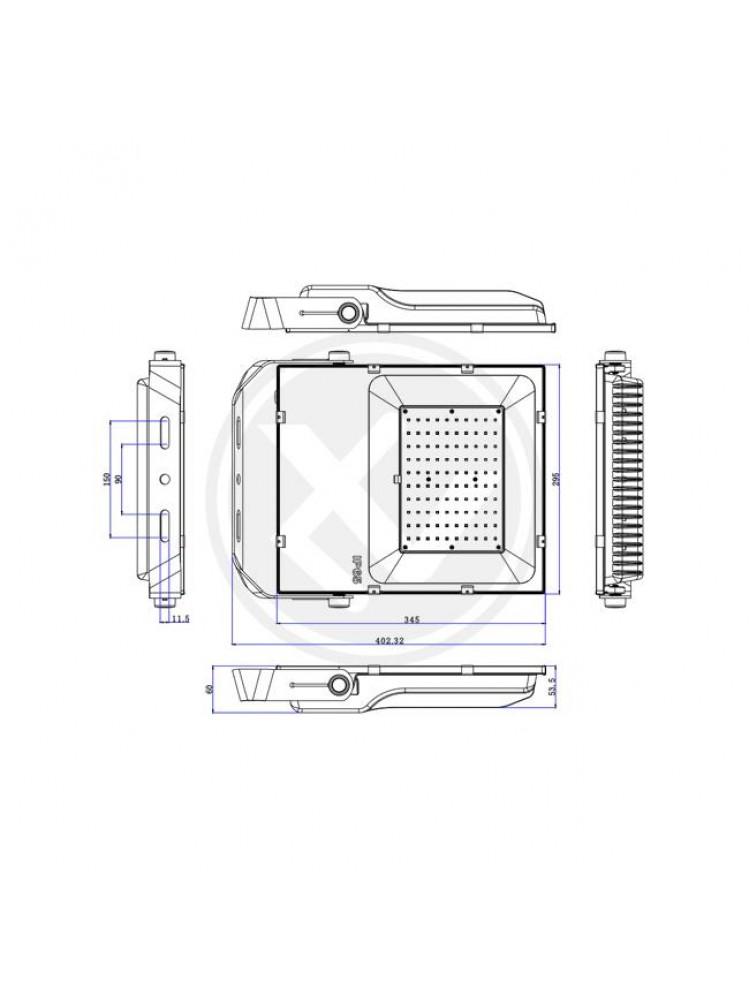 Lauko prožektorius / projektorius  PX-100W 5000K
