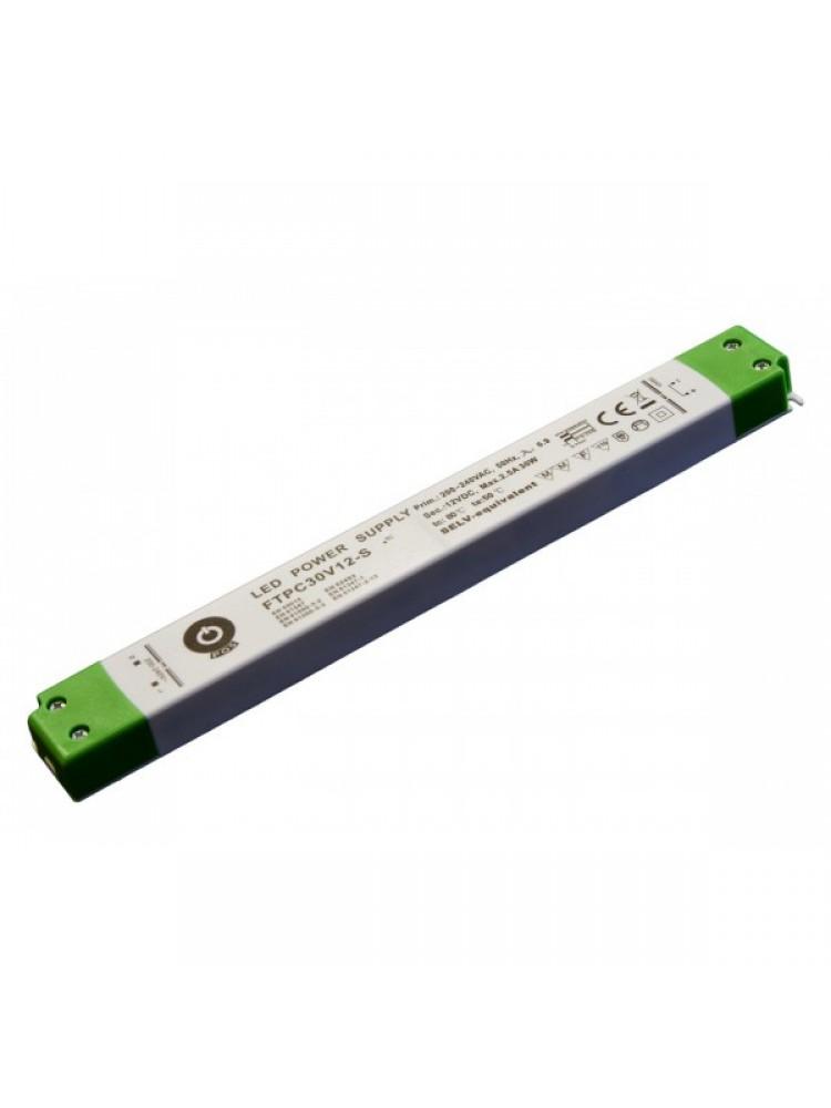 LED SLIM  FTPC30V12-S 12V 30W