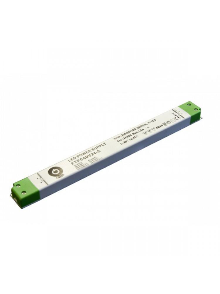 LED SLIM FTPC60V12-S 12V 60W