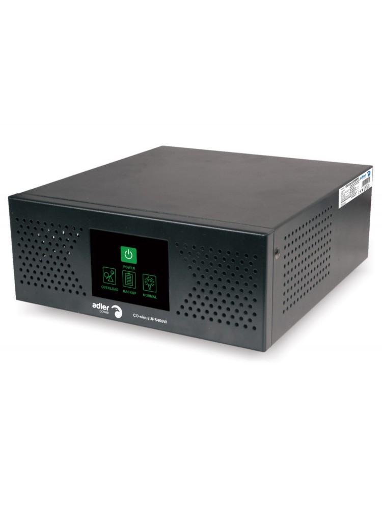 Nepertraukiamo maitinimo šaltinis 400W 12V/230Vac sinusas, stacionarus