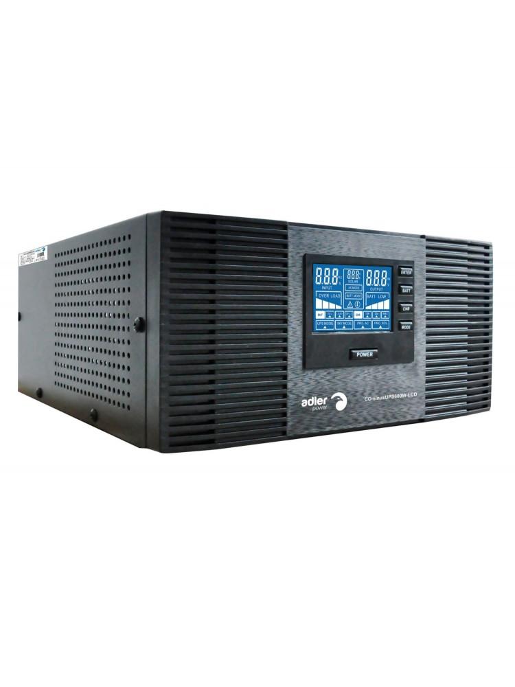 Nepertraukiamo maitinimo šaltinis 600W 12V/230Vac sinusas, stacionarus