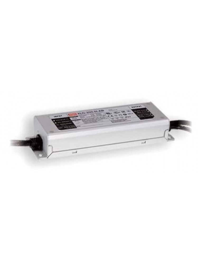 Impulsinis maitinimo šaltinis LED 12V 16A, reguliuojamas, IP67, Mean Well