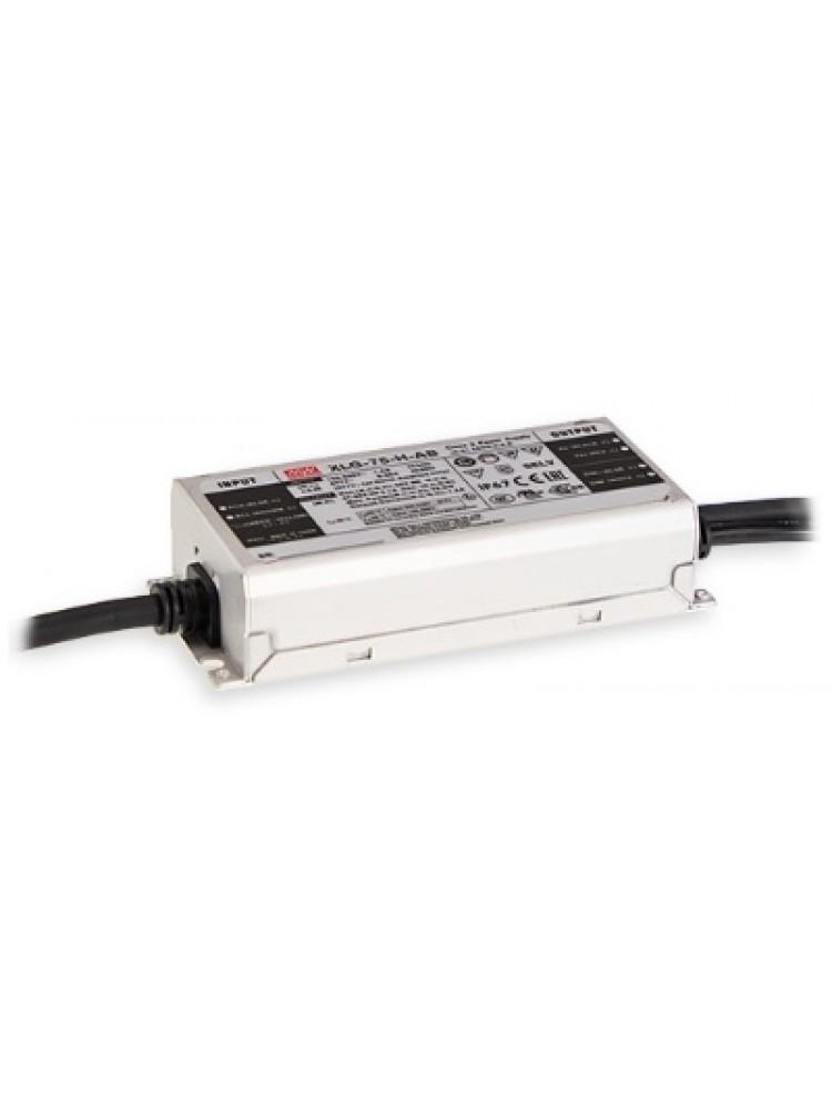 Impulsinis maitinimo šaltinis LED 24V 3.1A, reguliuojamas, IP67, Mean Well