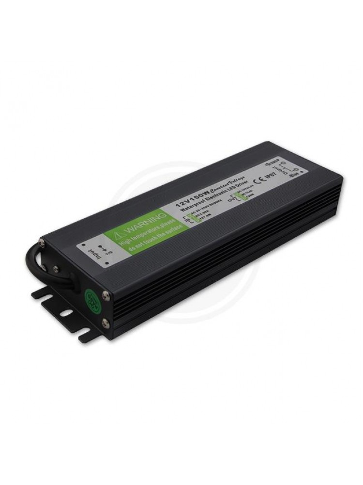 150W LED maitinimo šaltinis  12V, 12,5A , IP67