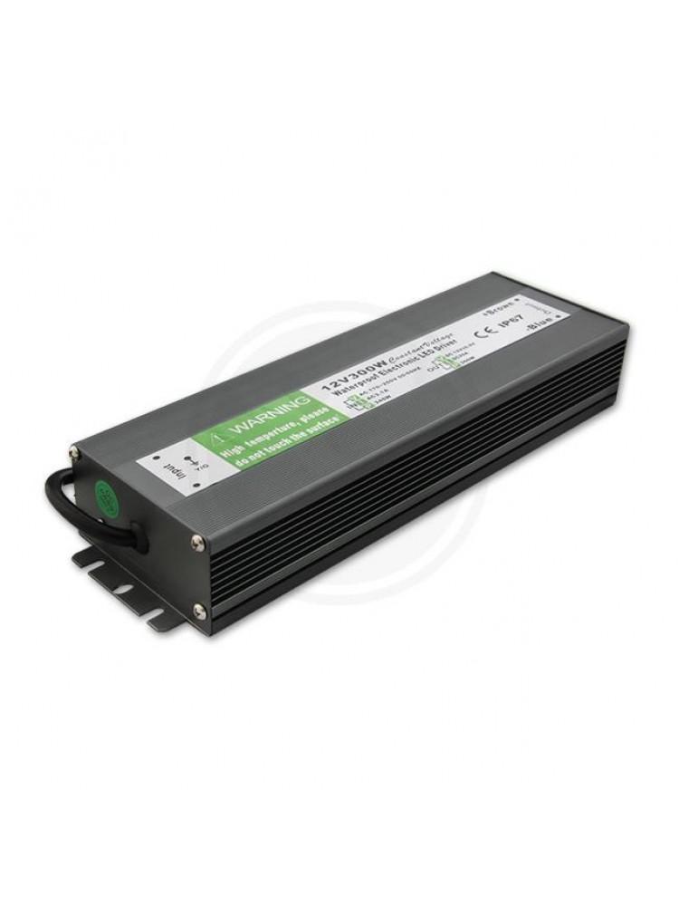 300W LED maitinimo šaltinis  12V, 25A , IP67