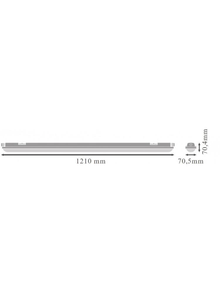 Šviestuvas LEDVANCE ECO CLASS DAMP PROOF  42 W 4000K