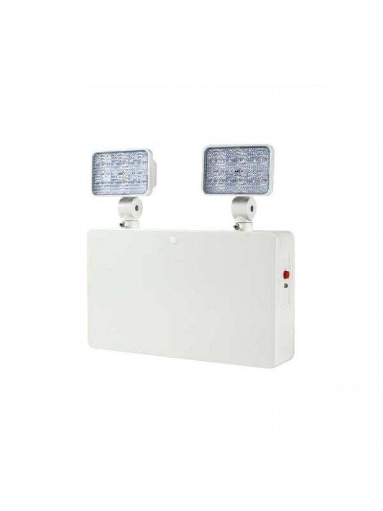 Evakuacinis dvigubas šviestuvas 2x3W