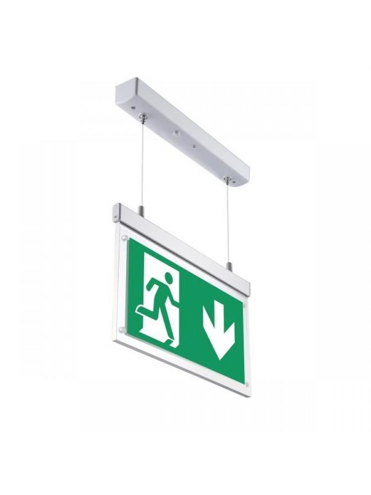 Evakuacinis pakabinamas šviestuvas 2W