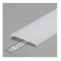 LED juostos profilio dangtelis VARIO30 C9 KLIK, baltas