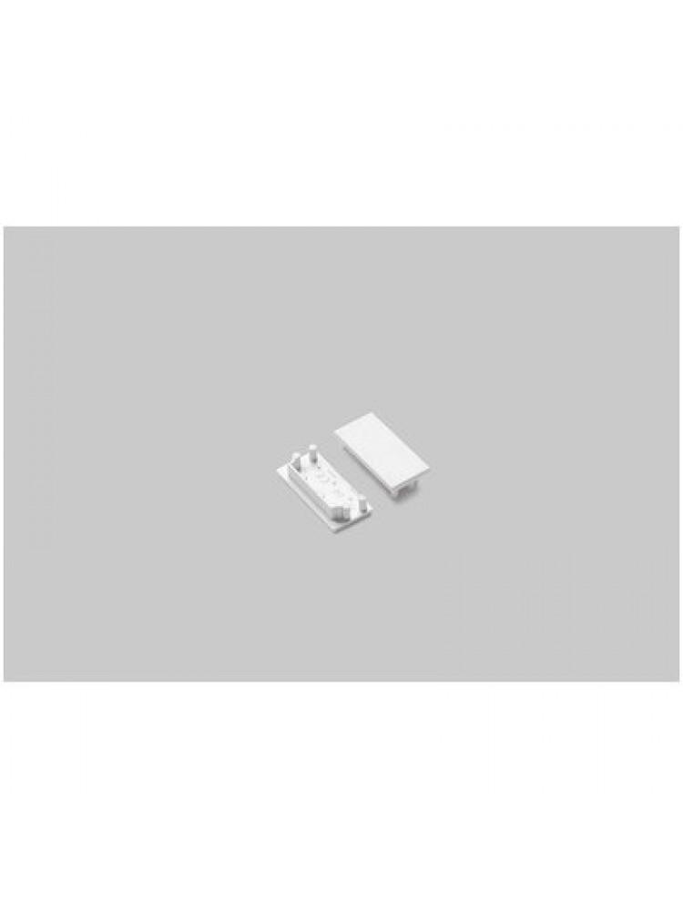 LED juostos profilio VARIO30-04 užbaigimo elementas, baltas
