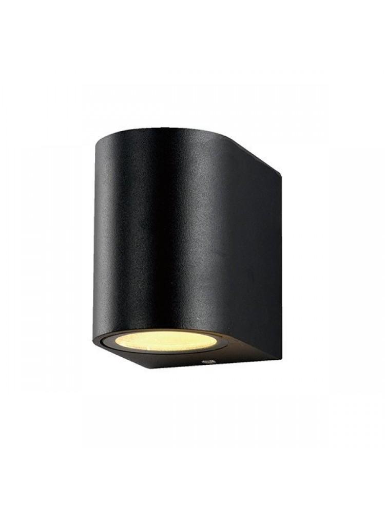 Sieninis lauko šviestuvas  GU10 juodu korpusu