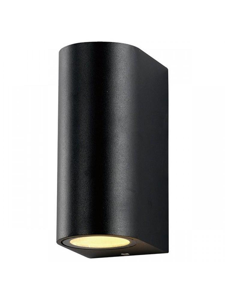 Sieninis lauko šviestuvas  2 x GU10, juodu korpusu