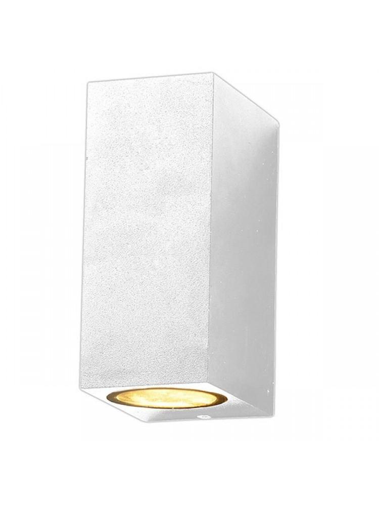 Sieninis lauko šviestuvas  2 x GU10, baltu korpusu