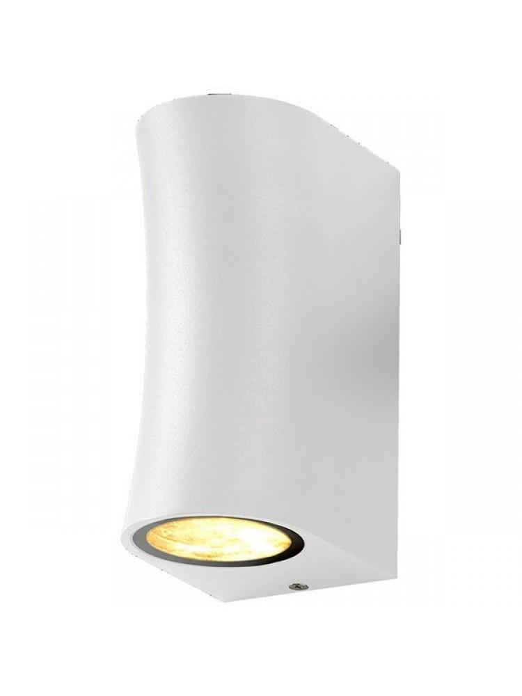 Sieninis lauko šviestuvas 2xGU10 baltu korpusu