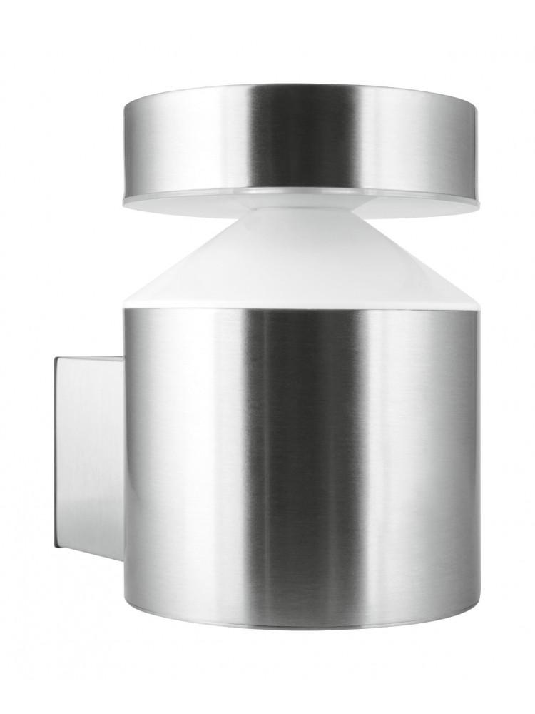 Fasado šviestuvas  Pole 6W/3000K plieno spalvos