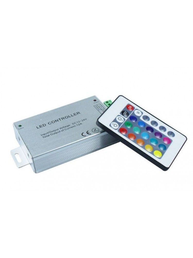 LED RGB IR  valdiklis 3x4A