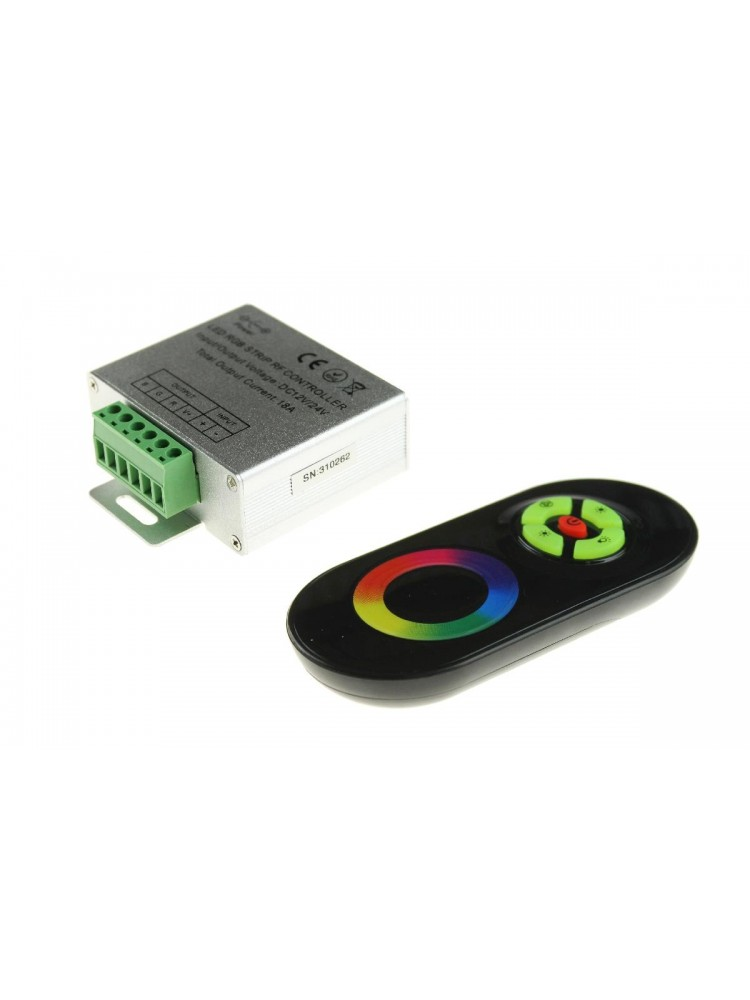 LED RGB RF valdiklis 3x6A